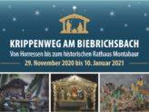 Krippenweg am Biebrichsbach von Horressen bis zum historischen Rathaus Montabaur
