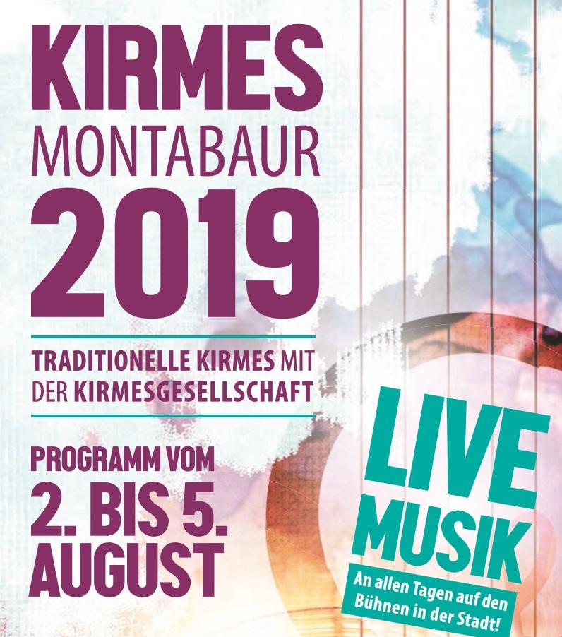 Kirmes in Montabaur 02. - 05. August