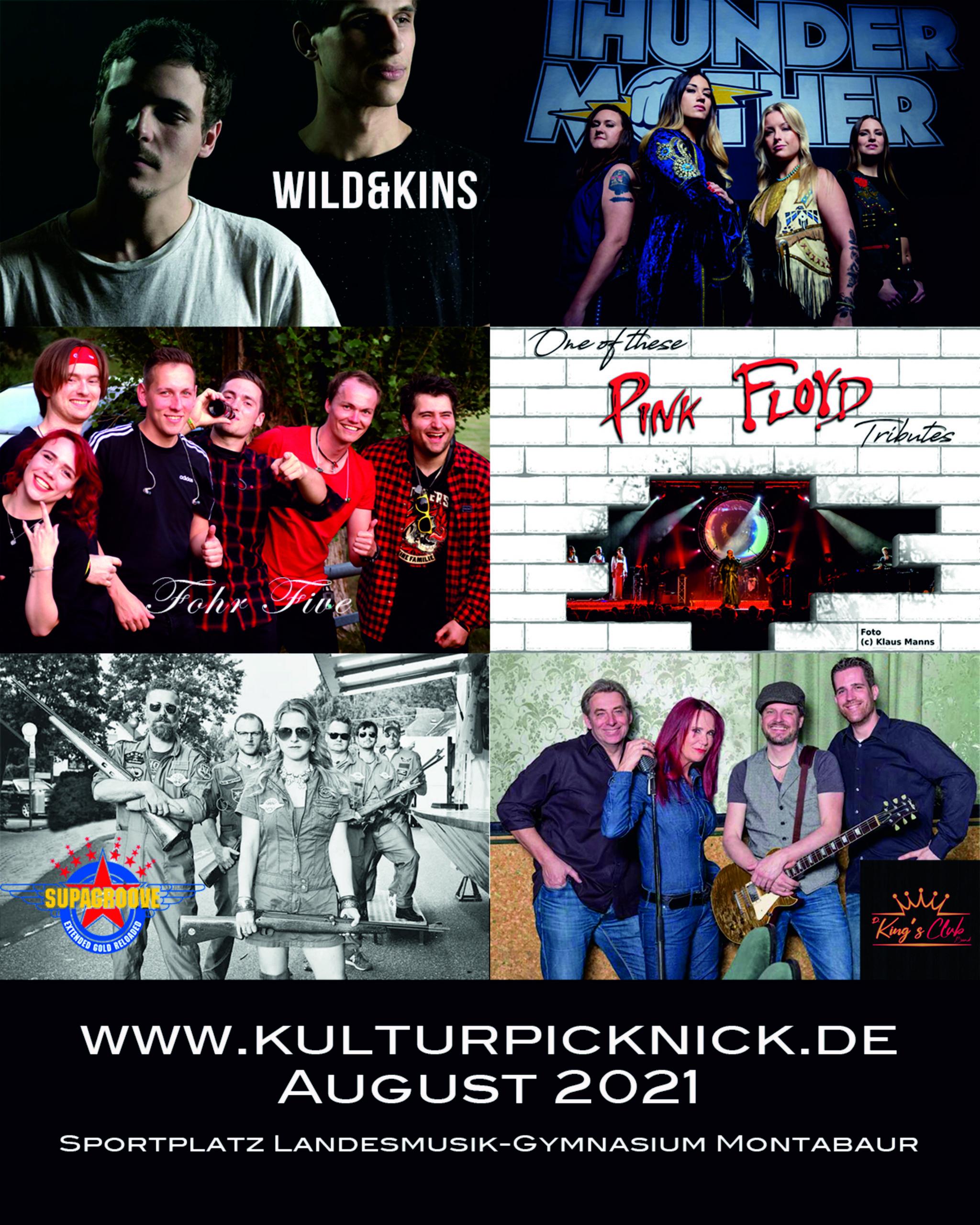 Kulturpicknick Montabaur am Sportplatz Landesmusikgymnasium
